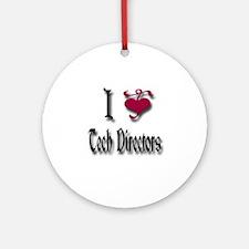 Love Tech Directors Ornament (Round)