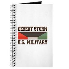Desert Storm Service Ribbon Journal
