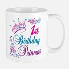 1st Birthday Princess Mug