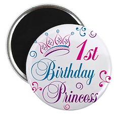 1st Birthday Princess Magnet