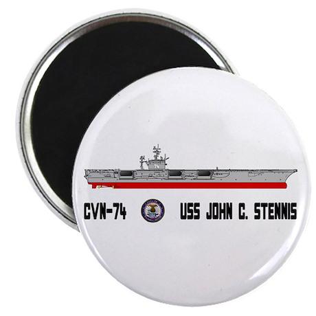 """USS Stennis CVN-74 2.25"""" Magnet (100 pack)"""