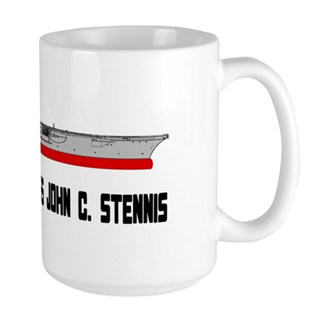 USS Stennis CVN-74 Large Mug