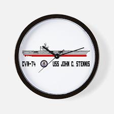 USS Stennis CVN-74 Wall Clock