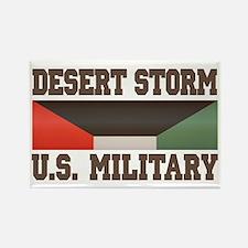 Desert Storm Service Ribbon Rectangle Magnet