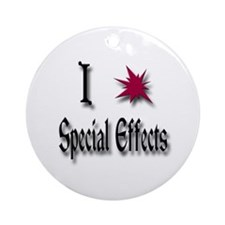 Love Special Effects Ornament (Round)