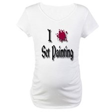Love Set Painting Shirt