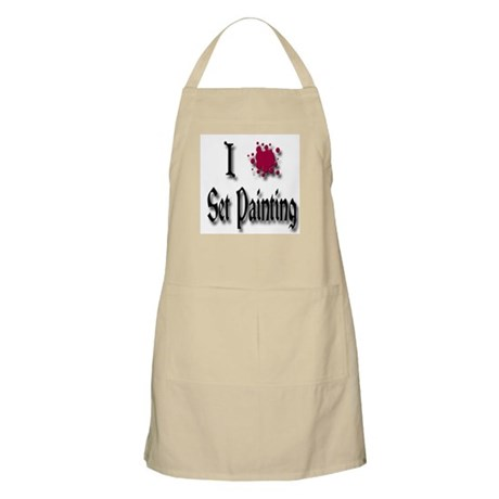 Love Set Painting BBQ Apron