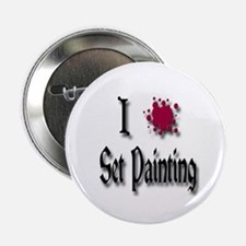 "Love Set Painting 2.25"" Button"