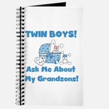 Grandma Twin Boys Journal