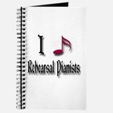 Love Rehearsal Pianists Journal