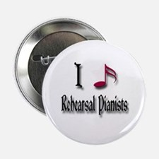 "Love Rehearsal Pianists 2.25"" Button"