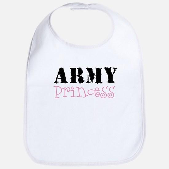 Army Princess Bib