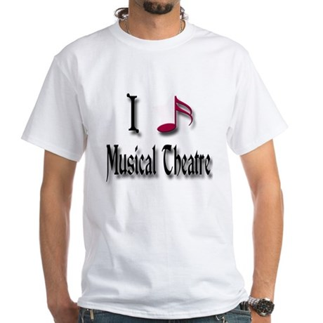 Love Musical Theatre White T-Shirt