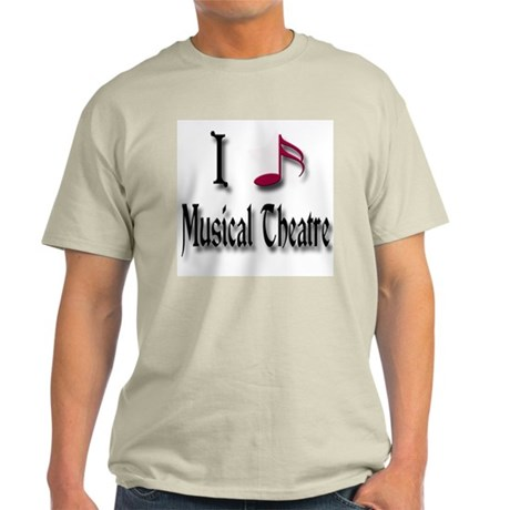 Love Musical Theatre Light T-Shirt