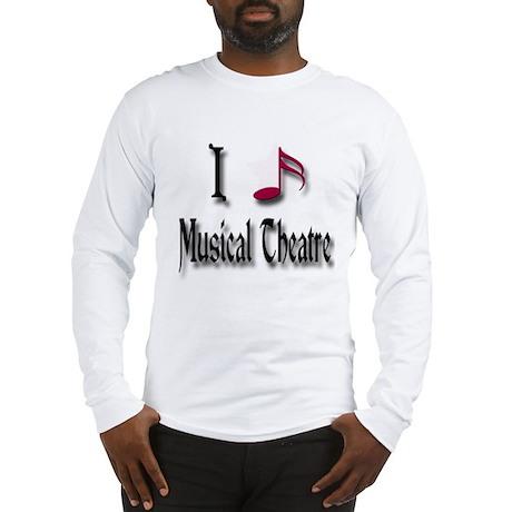 Love Musical Theatre Long Sleeve T-Shirt