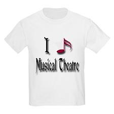 Love Musical Theatre T-Shirt