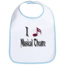 Love Musical Theatre Bib