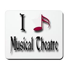 Love Musical Theatre Mousepad