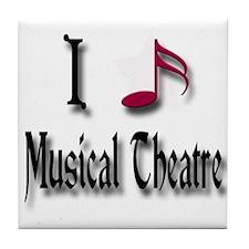 Love Musical Theatre Tile Coaster