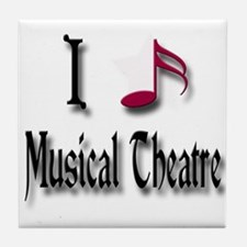 Love Musical Theatre Tile Coaster