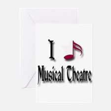 Love Musical Theatre Greeting Cards (Pk of 10)