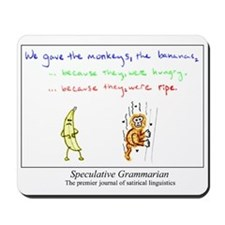 SpecGram NLP Monkey Mousepad