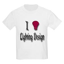 Love Lighting Design T-Shirt