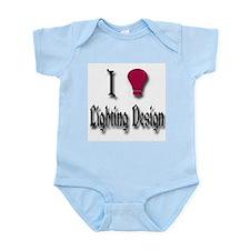 Love Lighting Design Infant Bodysuit