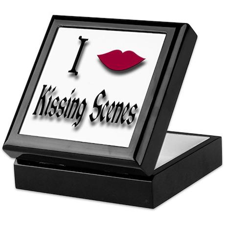 Love Kissing Scenes Keepsake Box