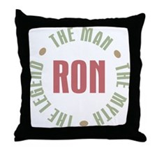 Ron Man Myth Legend Throw Pillow