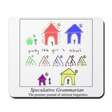 SpecGram NLP Pretty Girls Mousepad