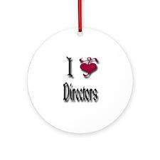 Love Directors Ornament (Round)