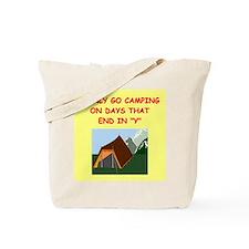 camping gifts t-shirts Tote Bag
