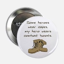 """Some Heroes Wear Capes 2.25"""" Button (100 pack)"""