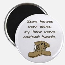 """Some Heroes Wear Capes 2.25"""" Magnet (100 pack)"""