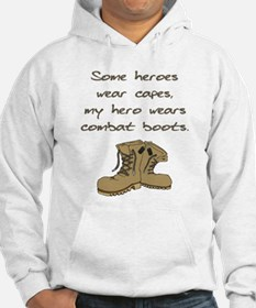 Some Heroes Wear Capes Hoodie
