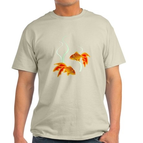 Chinese Koi Goldfish Light T-Shirt