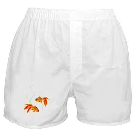 Chinese Koi Goldfish Boxer Shorts
