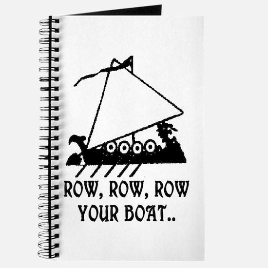 ROW, ROW, ROW YOUR BOAT Journal