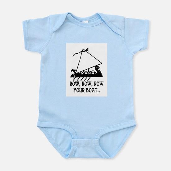 ROW, ROW, ROW YOUR BOAT Infant Bodysuit