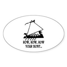 ROW, ROW, ROW YOUR BOAT Decal