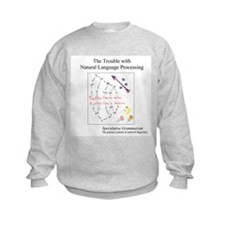SpecGram NLP ..Flies Like.. Sweatshirt