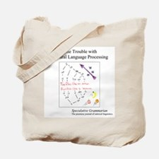 SpecGram NLP ..Flies Like.. Tote Bag