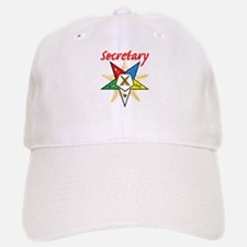 Eastern Star Secretary Items Baseball Baseball Cap