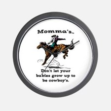 DON'T LET YOUR BABIES GROW UP.. Wall Clock