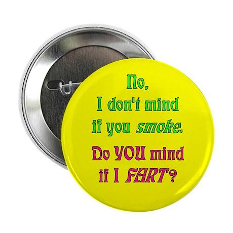 """Smoke - Fart"" Button (Yellow - 10 pack)"
