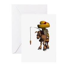 Donkey Travel Greeting Cards (Pk of 10)