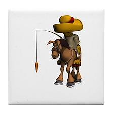 Donkey Travel Tile Coaster