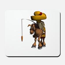 Donkey Travel Mousepad