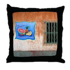 Building Art Window Throw Pillow